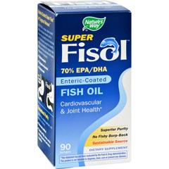 HGR0783639 - Nature's WaySuper Fisol Fish Oil - 90 Softgels