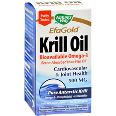 HGR0783654 - Nature's WayEfaGold Krill Oil - 30 Softgels