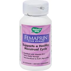 HGR0783837 - Nature's WayFemaprin Vitex Extract - 60 Caps