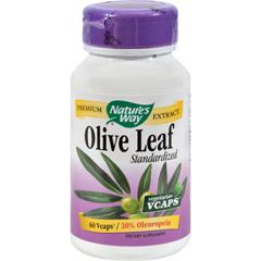 HGR0783894 - Nature's WayOlive Leaf Standardized 20% Oleuropein - 60 Vegetarian Capsules