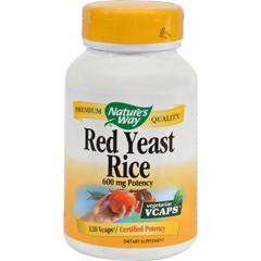 HGR0783969 - Nature's WayRed Yeast Rice - 120 Vegetarian Capsules