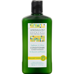 HGR0785147 - Andalou NaturalsBrilliant Shine Conditioner Sunflower and Citrus - 11.5 fl oz