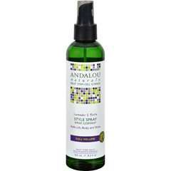 HGR0785204 - Andalou NaturalsFull Volume Style Spray Lavender and Biotin - 8.2 fl oz