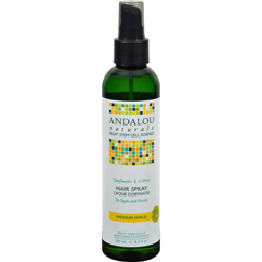 HGR0785212 - Andalou NaturalsPerfect Hold Hair Spray Sunflower and Citrus - 8.2 fl oz