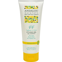 HGR0785238 - Andalou NaturalsMedium Hold Styling Gel Sunflower and Citrus - 6.8 fl oz
