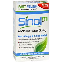 HGR0785402 - Sinol-M Homeopathic Allergy and Sinus Relief - 15 ml
