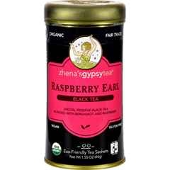 HGR0785592 - Zhena's Gypsy TeaRaspberry Earl Black Tea - Case of 6 - 22 Bags