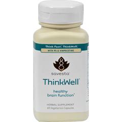 HGR0785758 - SavestaThinkWell - 60 Vegetarian Capsules