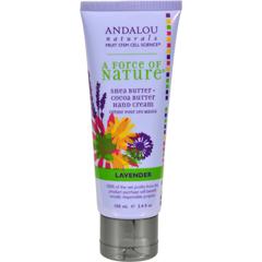 HGR0786574 - Andalou NaturalsHand Cream Lavender Shea - 3.4 fl oz
