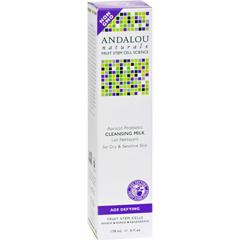 HGR0786616 - Andalou NaturalsCleansing Milk for Dry Sensitive Skin Apricot Probiotic - 6 fl oz