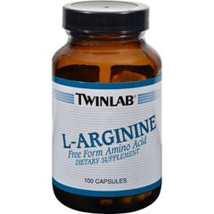 HGR0792101 - Twinlab - L-Arginine - 500 mg - 100 Capsules