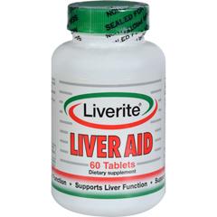 HGR0792465 - LiveriteLiver Aid - 60 Tablets