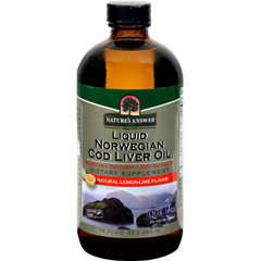 HGR0793737 - Nature's AnswerLiquid Norwegian Cod Liver Oil - 16 fl oz
