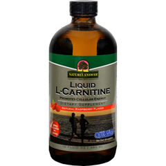 HGR0793752 - Nature's AnswerLiquid L-Carnitine Natural Raspberry - 16 fl oz