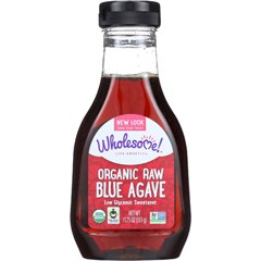 HGR0794339 - Wholesome SweetenersBlue Agave - Organic - Raw - 11.75 oz - case of 6