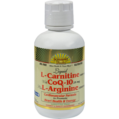 HGR0794453 - Dynamic HealthLiquid L-Carnitine with CoQ-10 plus L-Arginine Lemon Lime - 16 fl oz