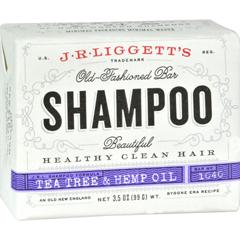 HGR0794529 - J.R. Liggett'sOld-Fashioned Bar Shampoo Tea Tree and Hemp Oil Formula - 3.5 oz
