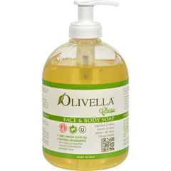 HGR0795062 - OlivellaFace and Body Soap - 16.9 fl oz