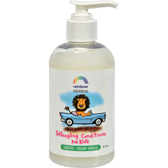 HGR0796516 - Rainbow ResearchOrganic Herbal Detangling Conditioner For Kids Creamy Vanilla - 8.5 fl oz