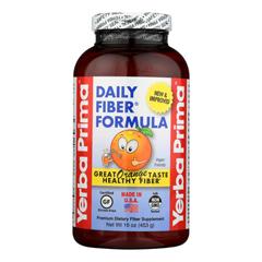 HGR0796805 - Yerba Prima - Daily Fiber Formula, Orange Flavor - 1 Each - 16 oz.