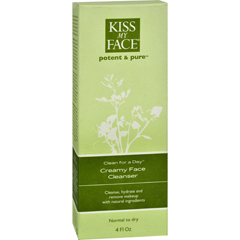 HGR0799874 - Kiss My FaceCreamy Face Cleanser Clean For A Day - 4 fl oz