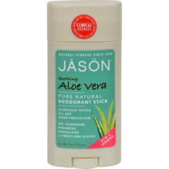 HGR0800508 - Jason Natural ProductsDeodorant Stick Pure Natural Aloe Vera - 2.5 oz