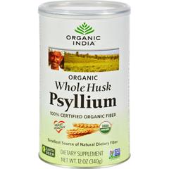 HGR0801696 - Organic IndiaFiber Harmony Psyllium Whole Husk - 12 oz