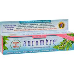 HGR0803015 - AuromereHerbal Toothpaste Cardamom-Fennel - 4.16 oz - Case of 12