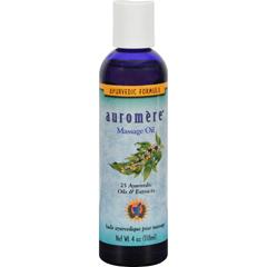 HGR0803056 - AuromereAyurvedic Massage Oil - 4 fl oz