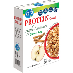 HGR0807446 - Kay's Naturals - Better Balance Protein Cereal Apple Cinnamon - 9.5 oz - Case of 6