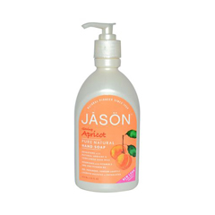 HGR0808600 - Jason Natural ProductsPure Natural Hand Soap Glowing Apricot - 16 fl oz