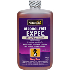HGR0809145 - NaturadeAlcohol-Free Herbal Expectorant - Natural Cherry Flavor - 8.8 oz