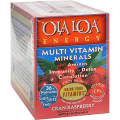 HGR0809970 - Ola Loa ProductsOla Loa Energy Cran-Raspberry - 30 Packets