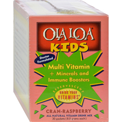 HGR0809996 - Ola Loa ProductsOla Loa Kids Multi-Vitamin Drink Cran-Raspberry - 30 Packets