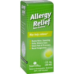 HGR0810382 - NatraBioAllergy Relief Non-Drowsy - 1 fl oz