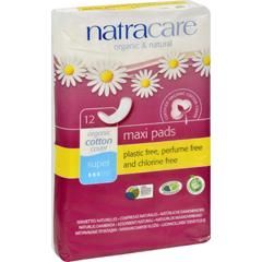 HGR0810663 - NatracareNatural Menstrual Pads - 12 Pack