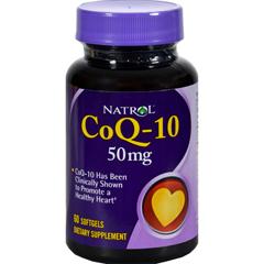 HGR0814087 - NatrolCoQ-10 - 50 mg - 60 Softgels