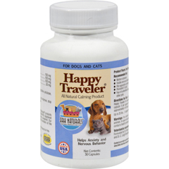 HGR0814863 - Ark NaturalsHappy Traveler for Dogs and Cats - 30 Capsules