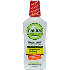 HGR0815274 - Natural DentistHealthy Gums Antigingivitis Rinse Peppermint Twist - 16.9 fl oz