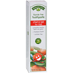 HGR0816116 - Nature's GateNatural Toothpaste Gel For Kids Cherry - 5 oz - Case of 6