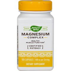 HGR0816363 - Nature's WayMagnesium Complex - 100 Capsules