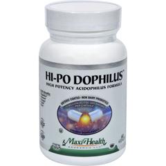HGR0816850 - Maxi Health Kosher VitaminsMax Health Hi-Po Dophilus High Potency Acidophilus Formula - 60 Caps