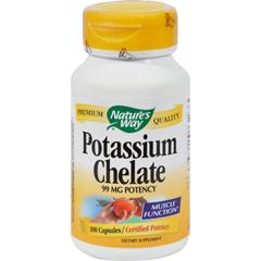 HGR0816967 - Nature's WayPotassium Chelate - 100 Capsules