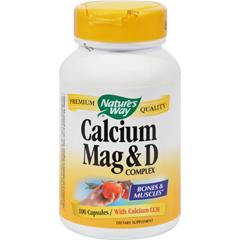 HGR0817064 - Nature's WayCalcium Mag and D Complex - 100 Capsules