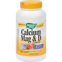 HGR0817460 - Nature's WayCalcium Mag and D Complex - 250 Capsules