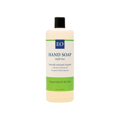 HGR0817759 - EO ProductsLiquid Hand Soap Peppermint and Tea Tree - 32 fl oz