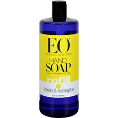 HGR0817775 - EO Products - Liquid Hand Soap Lemon And Eucalyptus - 32 fl oz