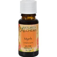 HGR0821082 - Nature's Alchemy100% Pure Essential Oil Myrrh - 0.5 fl oz