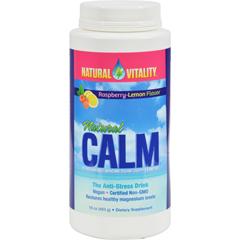 HGR0821595 - Natural VitalityNatural Calm Raspberry Lemon - 16 oz