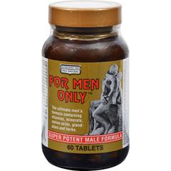 HGR0825224 - Only NaturalFor Men Only Formula - 60 Tablets